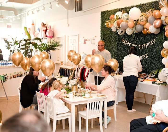 Wild ONE Golden First Birthday Party on Kara's Party Ideas | KarasPartyIdeas.com (5)