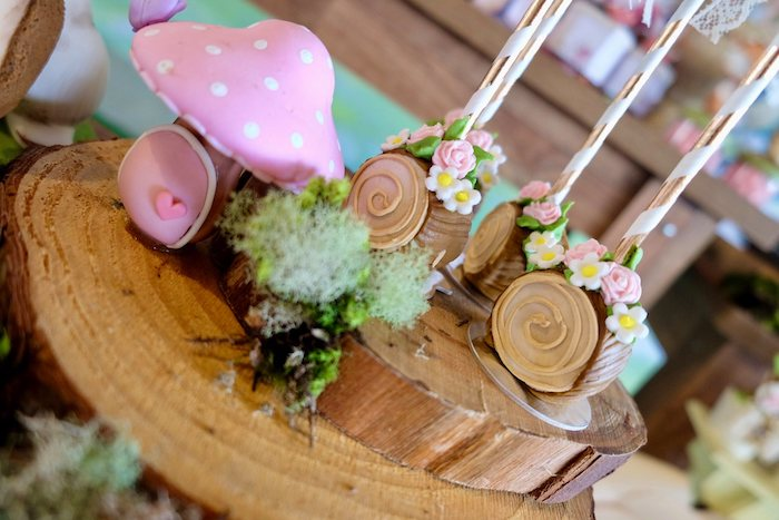Log Cake Pops from a Woodland Animal Birthday Party on Kara's Party Ideas | KarasPartyIdeas.com (23)