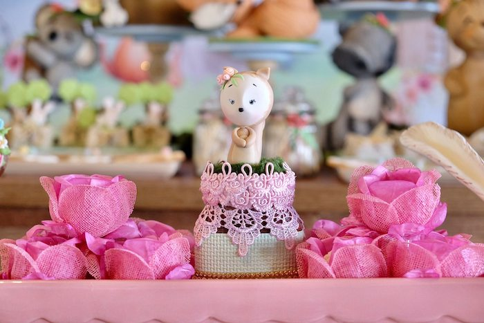 Woodland Sweets + Favor Jar from a Woodland Animal Birthday Party on Kara's Party Ideas | KarasPartyIdeas.com (4)