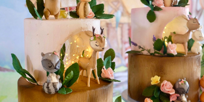 Woodland Animal Birthday Party on Kara's Party Ideas | KarasPartyIdeas.com (2)