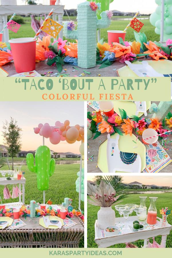 """Taco 'Bout a Party"" Colorful Fiesta via Kara's Party Ideas - KarasPartyIdeas.com"