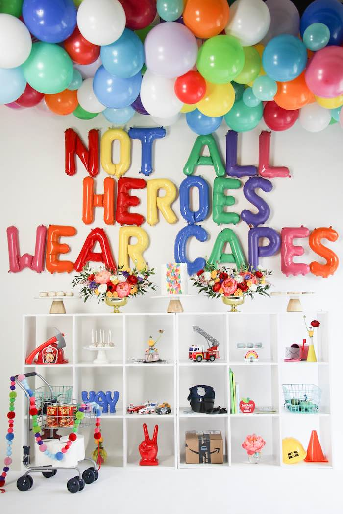 """Not All Heroes Wear Capes"" COVID-19 Essential Workers Tribute on Kara's Party Ideas 
