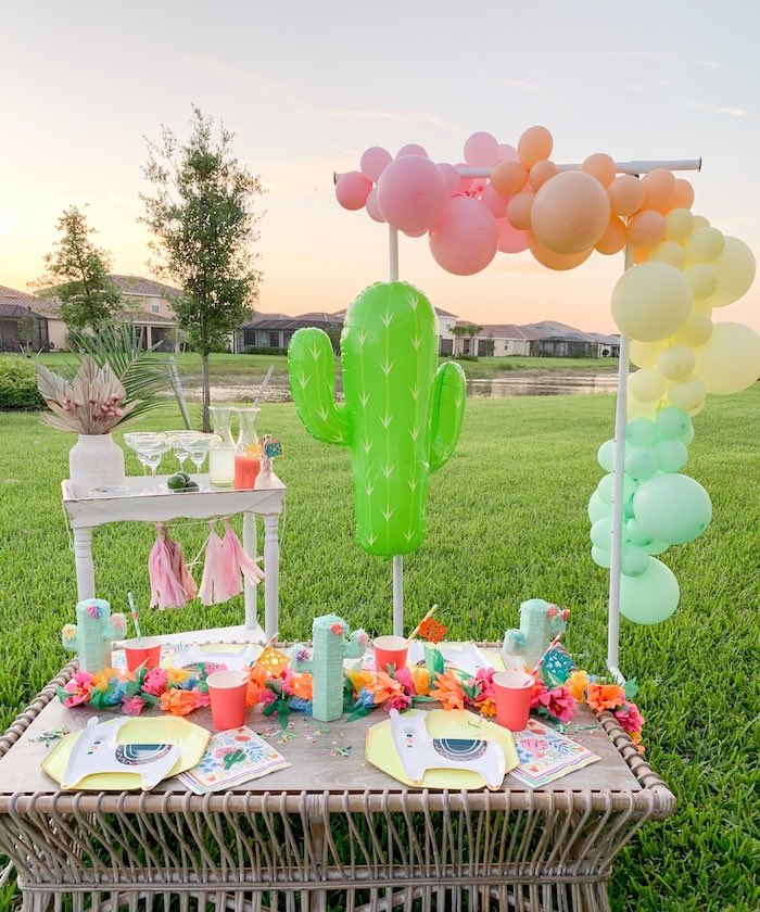 """Taco 'Bout a Party"" Colorful Fiesta on Kara's Party Ideas 