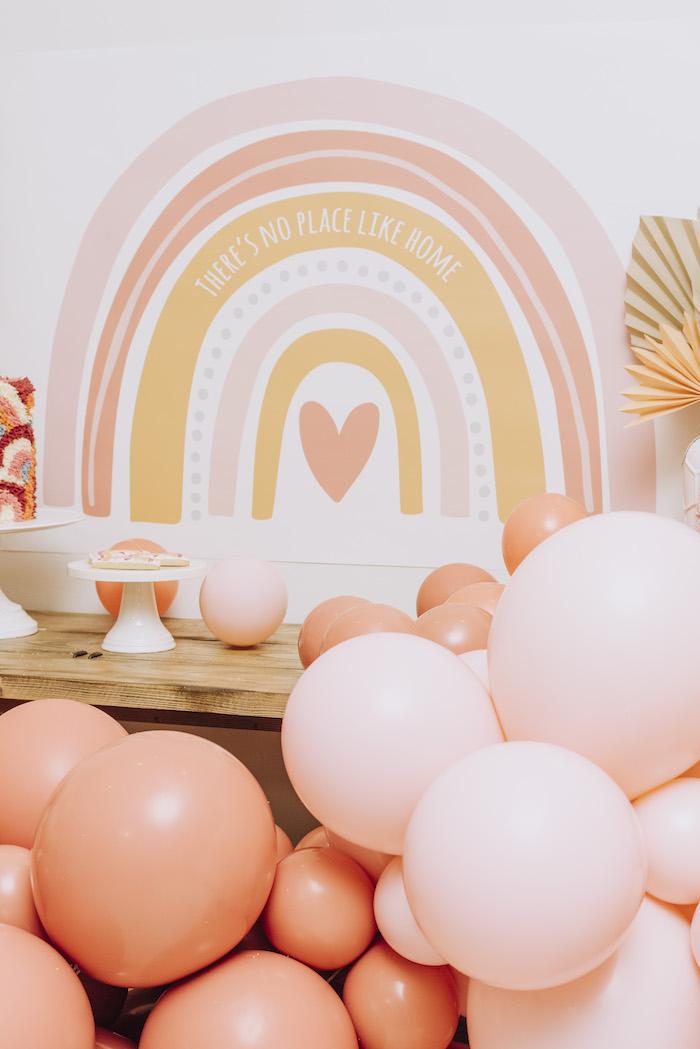 """There's No Place Like Home"" Boho Rainbow Quarantine Party on Kara's Party Ideas | KarasPartyIdeas.com (5)"