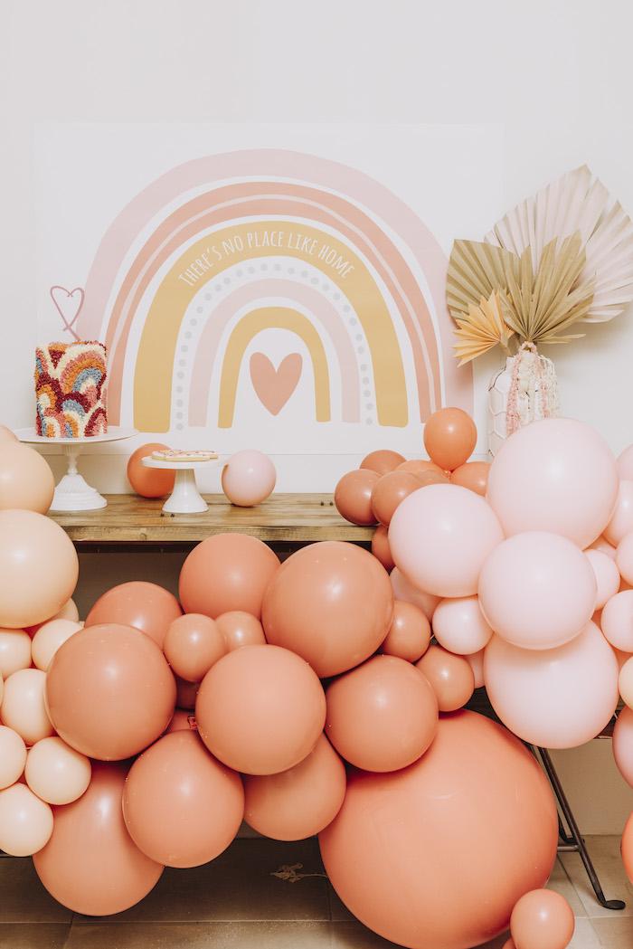 """There's No Place Like Home"" Boho Rainbow Quarantine Party on Kara's Party Ideas | KarasPartyIdeas.com (15)"