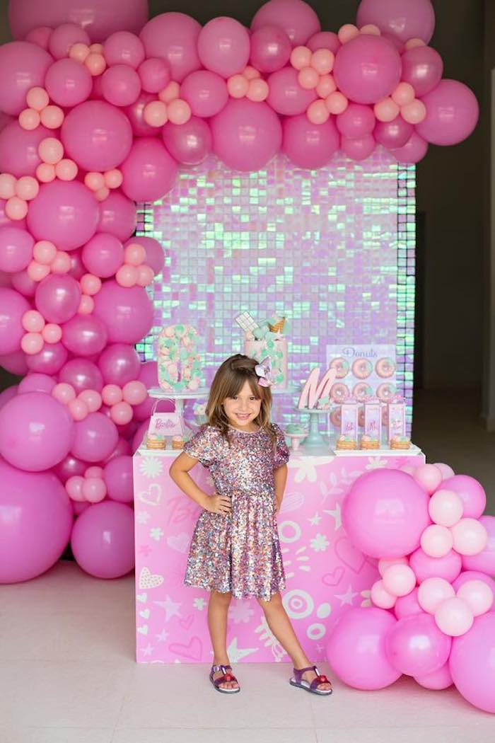 Barbie Quarantine Birthday Party + Parade on Kara's Party Ideas | KarasPartyIdeas.com (16)