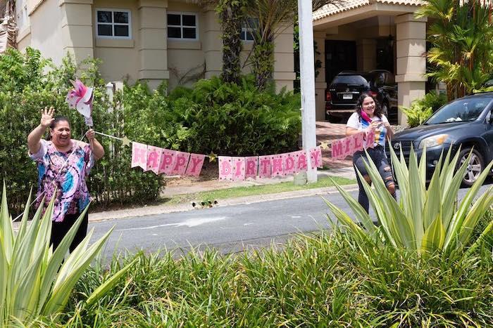 Birthday Parade from a Barbie Quarantine Birthday Party + Parade on Kara's Party Ideas | KarasPartyIdeas.com (11)
