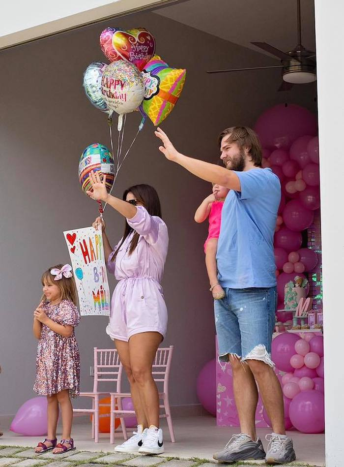 Birthday Parade from a Barbie Quarantine Birthday Party + Parade on Kara's Party Ideas | KarasPartyIdeas.com (10)