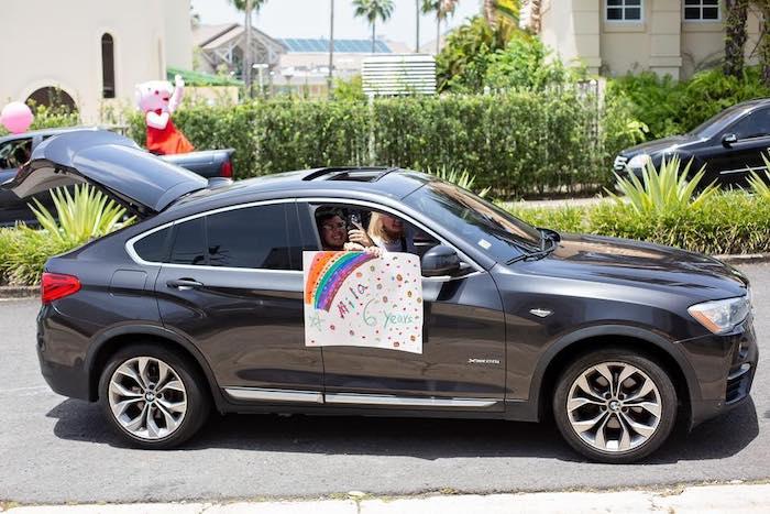 Birthday Parade from a Barbie Quarantine Birthday Party + Parade on Kara's Party Ideas | KarasPartyIdeas.com (7)