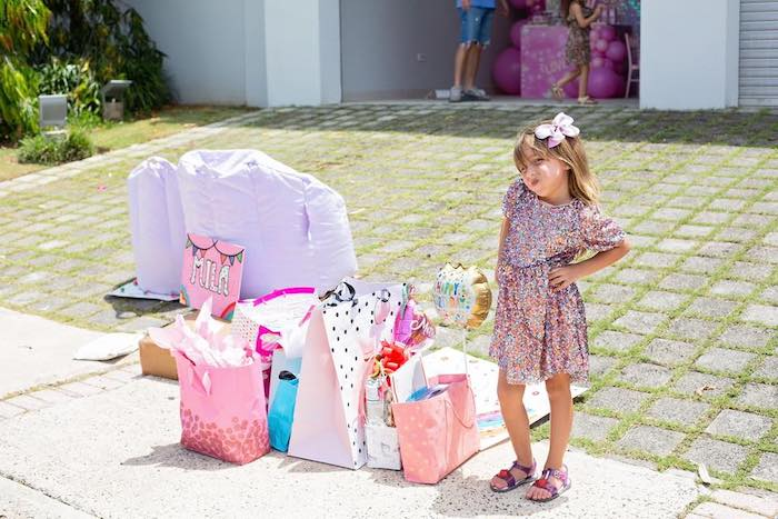 Gifts from a Barbie Quarantine Birthday Party + Parade on Kara's Party Ideas | KarasPartyIdeas.com (4)