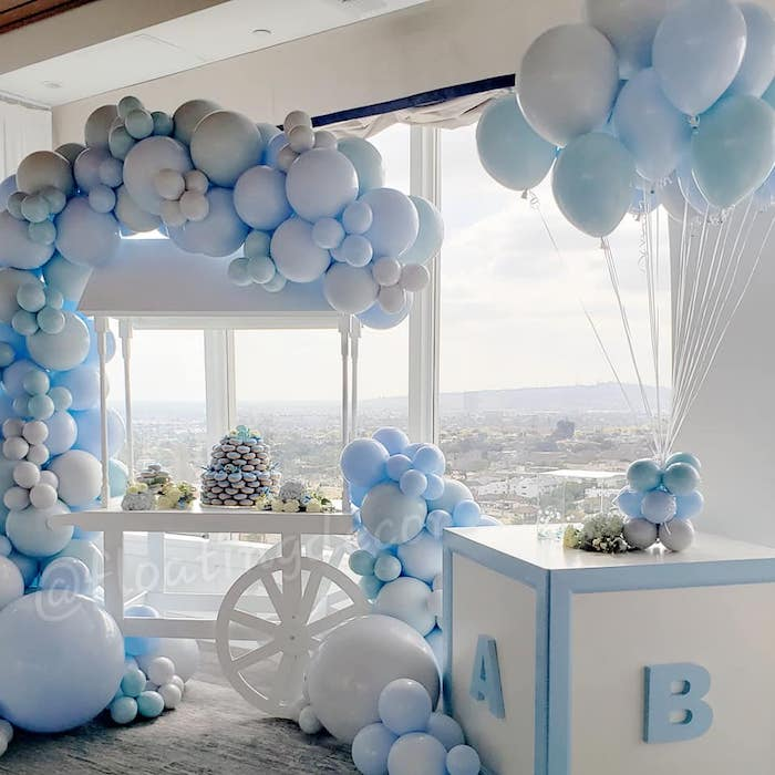 Blue Elephant Baby Shower on Kara's Party Ideas | KarasPartyIdeas.com (6)