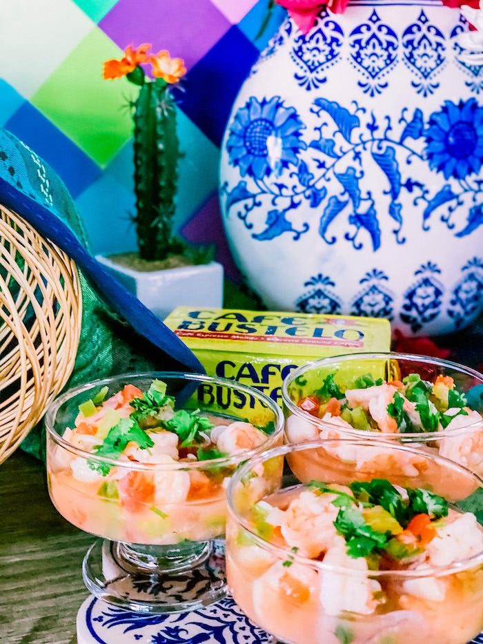 Shrimp Bowls from a Cinco de Quarantin-o Fiesta on Kara's Party Ideas | KarasPartyIdeas.com (10)