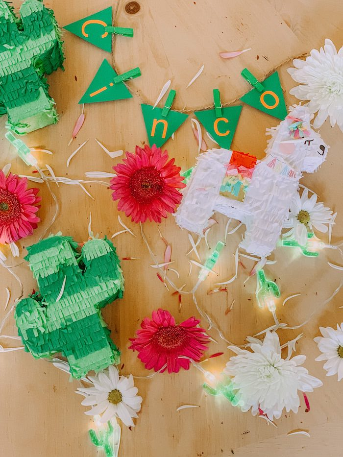 Fiesta Banner + Bunting from a Cinco de Quarantin-o Fiesta on Kara's Party Ideas | KarasPartyIdeas.com (8)