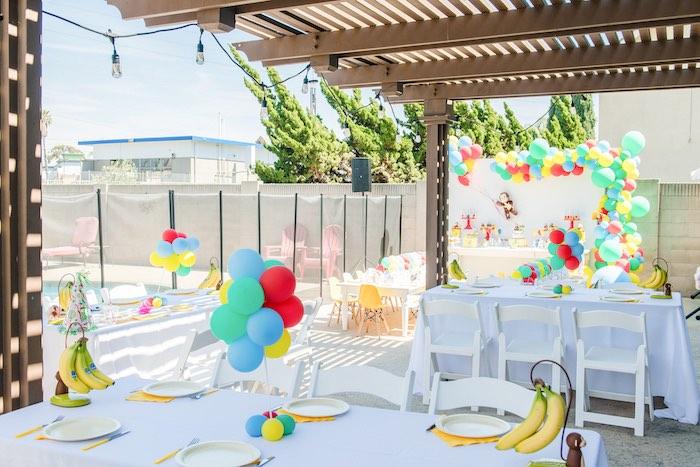 Curious George Birthday Party on Kara's Party Ideas | KarasPartyIdeas.com (11)