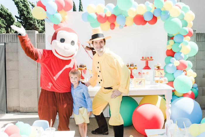 Curious George Birthday Party on Kara's Party Ideas | KarasPartyIdeas.com (7)