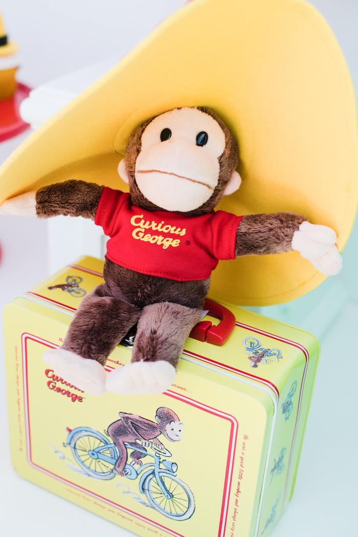 Plush Curious George from a Curious George Birthday Party on Kara's Party Ideas | KarasPartyIdeas.com (31)