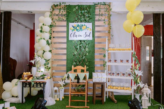 Dainty Lemon Baptism Brunch on Kara's Party Ideas | KarasPartyIdeas.com (14)