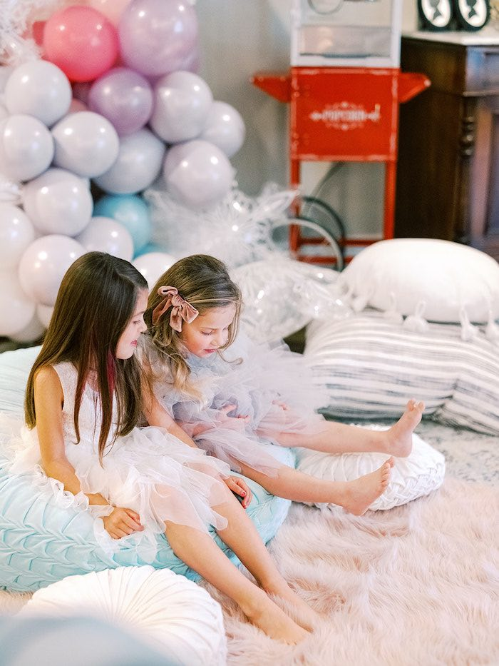 Elegant Frozen Birthday Party on Kara's Party Ideas | KarasPartyIdeas.com (12)