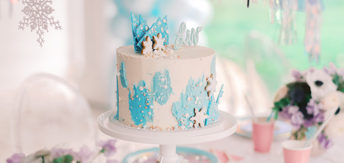 Elegant Frozen Birthday Party on Kara's Party Ideas | KarasPartyIdeas.com (3)
