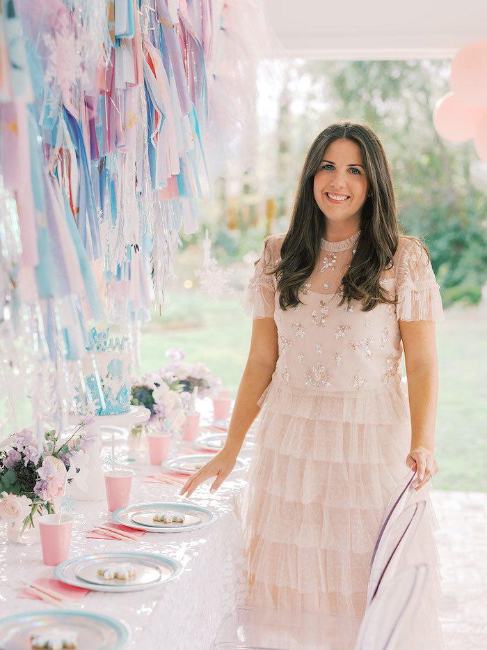 Elegant Frozen Birthday Party on Kara's Party Ideas | KarasPartyIdeas.com (30)