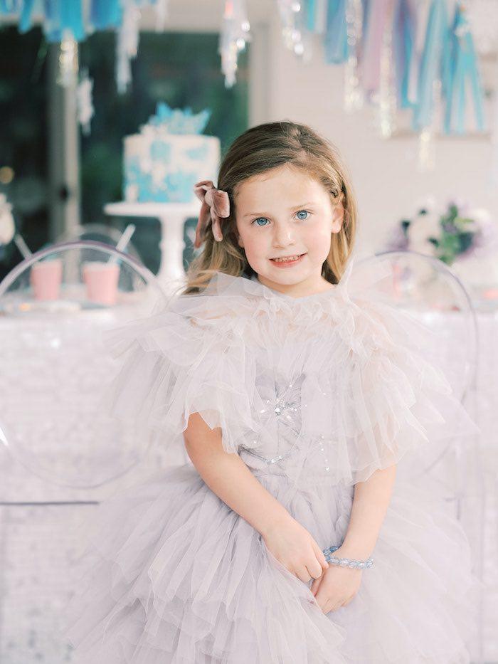 Elegant Frozen Birthday Party on Kara's Party Ideas | KarasPartyIdeas.com (29)