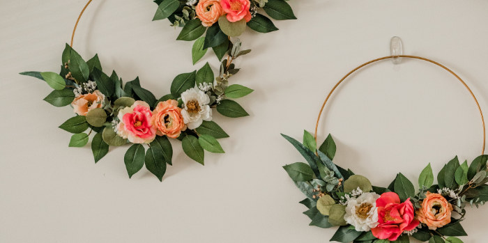 Floral Crafting Bridal Shower on Kara's Party Ideas   KarasPartyIdeas.com (6)