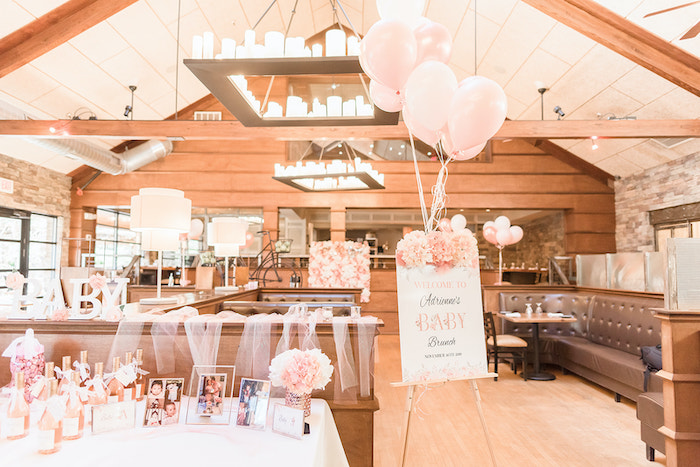 Intimate Champagne Blush Baby Brunch on Kara's Party Ideas | KarasPartyIdeas.com (22)