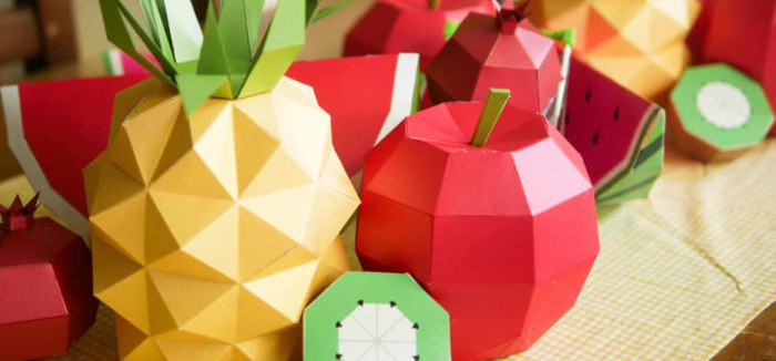 Origami Tutti Frutti Party on Kara's Party Ideas | KarasPartyIdeas.com (3)