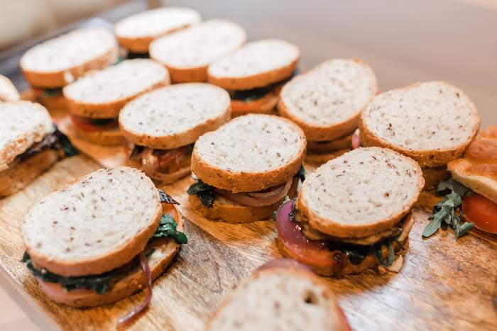 Sandwiches from a Pastel Party Animal Birthday Party on Kara's Party Ideas | KarasPartyIdeas.com (7)