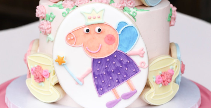 Pastel Peppa Pig Tea Party on Kara's Party Ideas | KarasPartyIdeas.com (1)