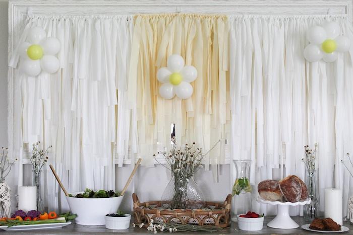 Rustic Daisy Garden Party on Kara's Party Ideas | KarasPartyIdeas.com (9)