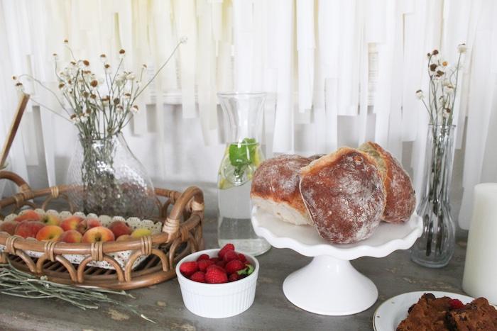 Head Table from a Rustic Daisy Garden Party on Kara's Party Ideas | KarasPartyIdeas.com (4)