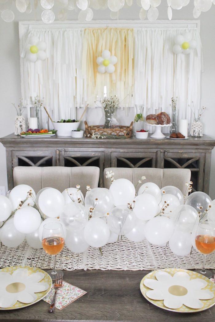 Rustic Daisy Garden Party on Kara's Party Ideas | KarasPartyIdeas.com (12)