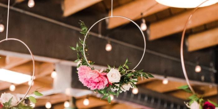 Rustic Floral Dahlias & Roses Birthday Party on Kara's Party Ideas | KarasPartyIdeas.com (4)
