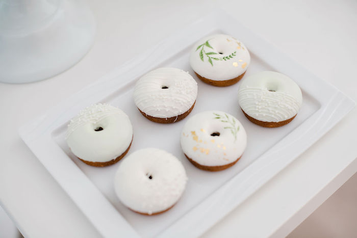 Tropical Mini Doughnuts from a Tropical Chic Baby Shower on Kara's Party Ideas | KarasPartyIdeas.com (33)