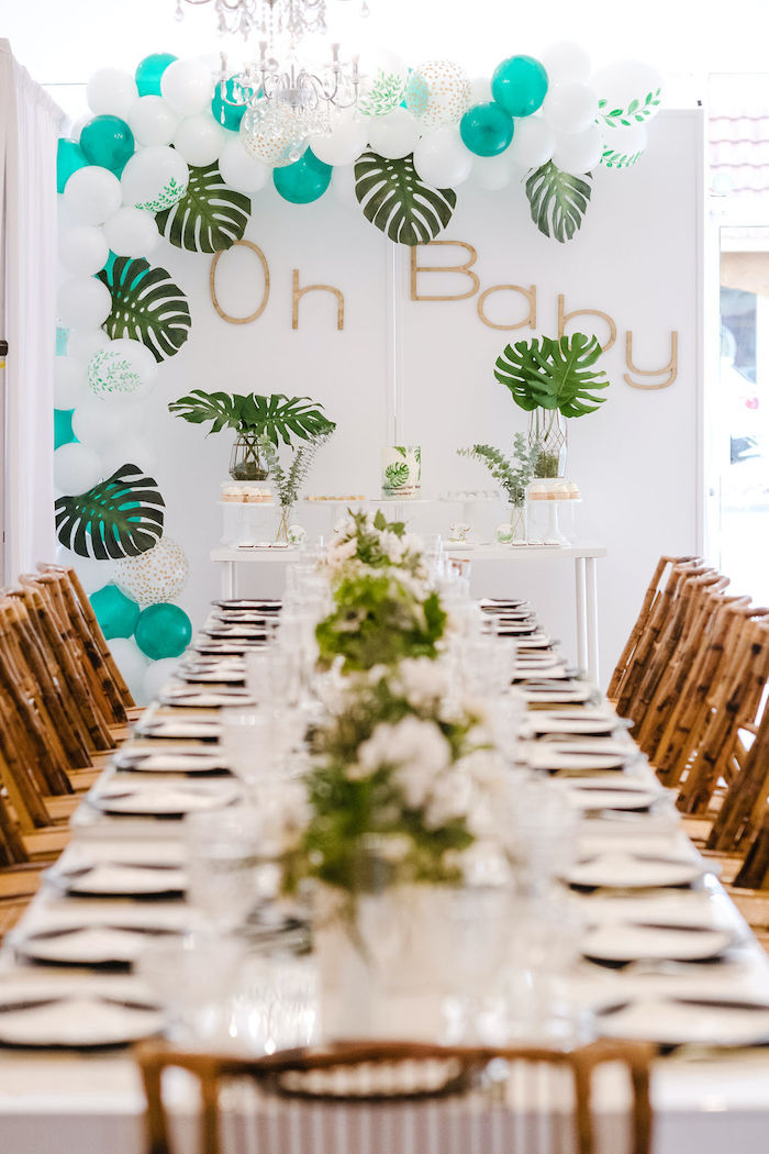 Tropical Chic Baby Shower on Kara's Party Ideas | KarasPartyIdeas.com (12)
