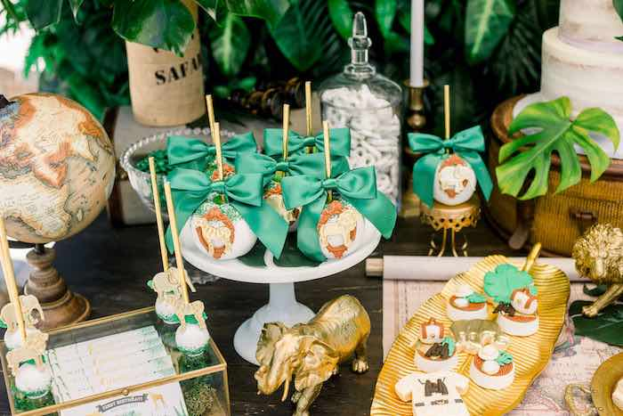 Safari Party Sweets from a Tropical Safari Birthday Party on Kara's Party Ideas | KarasPartyIdeas.com (22)