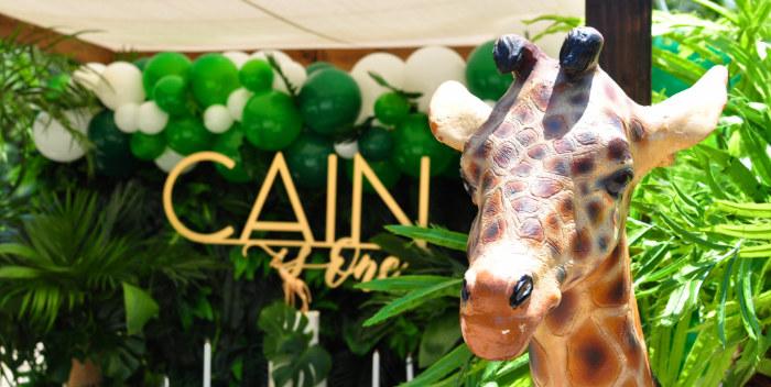 Tropical Safari Birthday Party on Kara's Party Ideas | KarasPartyIdeas.com (4)