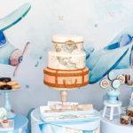 Vintage Travel + Airplane Birthday Party on Kara's Party Ideas | KarasPartyIdeas.com (2)