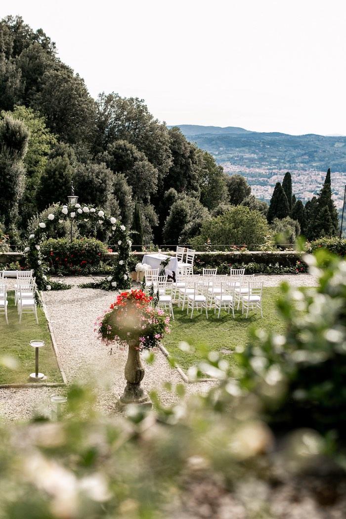 Vogue-Inspired Fairytale Italian Wedding on Kara's Party Ideas   KarasPartyIdeas.com (28)