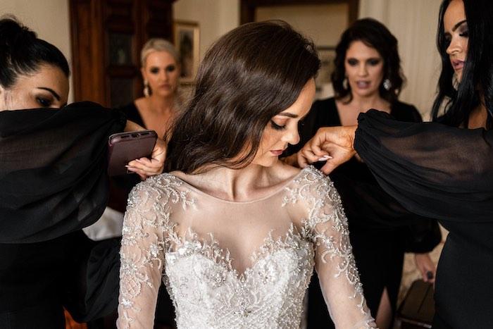 Vogue-Inspired Fairytale Italian Wedding on Kara's Party Ideas | KarasPartyIdeas.com (24)