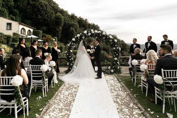 Vogue-Inspired Fairytale Italian Wedding on Kara's Party Ideas   KarasPartyIdeas.com (20)