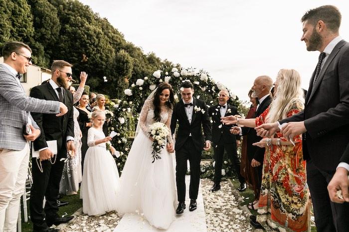 Vogue-Inspired Fairytale Italian Wedding on Kara's Party Ideas | KarasPartyIdeas.com (37)