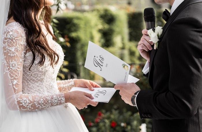 Vogue-Inspired Fairytale Italian Wedding on Kara's Party Ideas   KarasPartyIdeas.com (18)