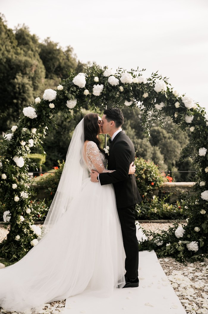 Vogue-Inspired Fairytale Italian Wedding on Kara's Party Ideas   KarasPartyIdeas.com (17)