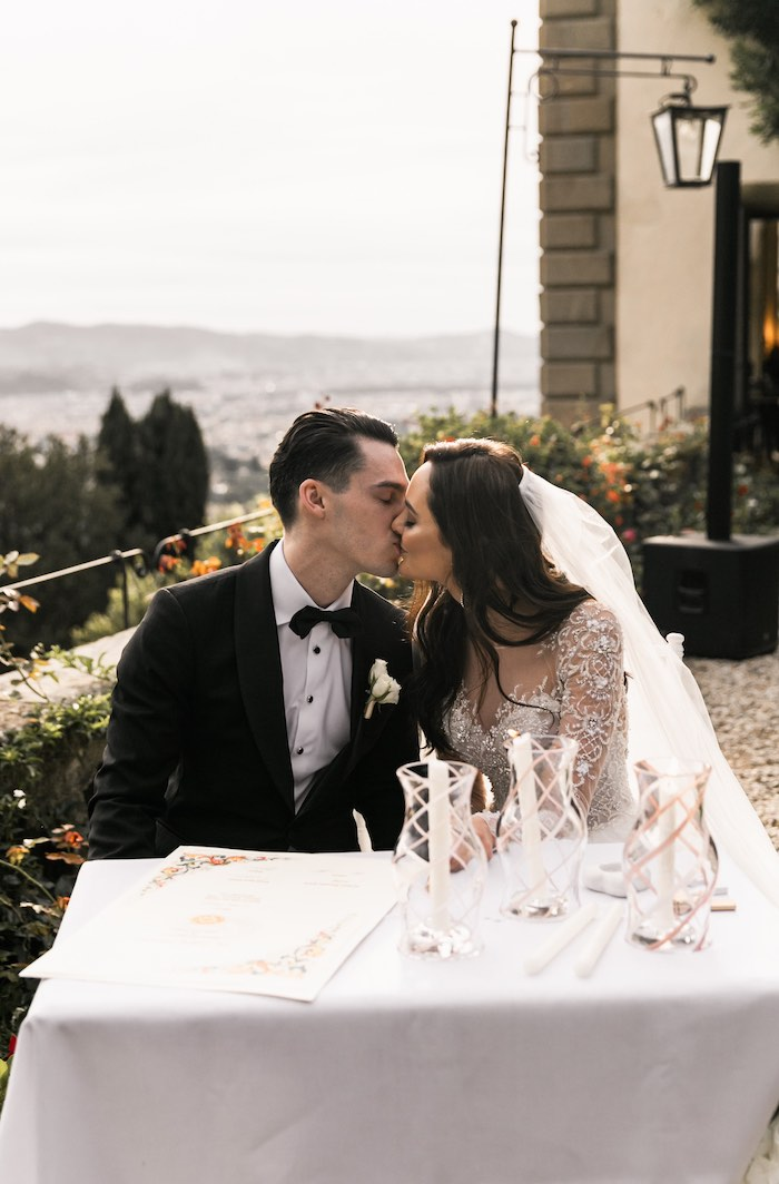 Vogue-Inspired Fairytale Italian Wedding on Kara's Party Ideas | KarasPartyIdeas.com (16)
