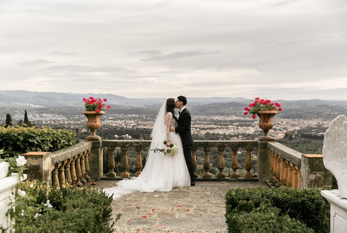 Vogue-Inspired Fairytale Italian Wedding on Kara's Party Ideas | KarasPartyIdeas.com (15)