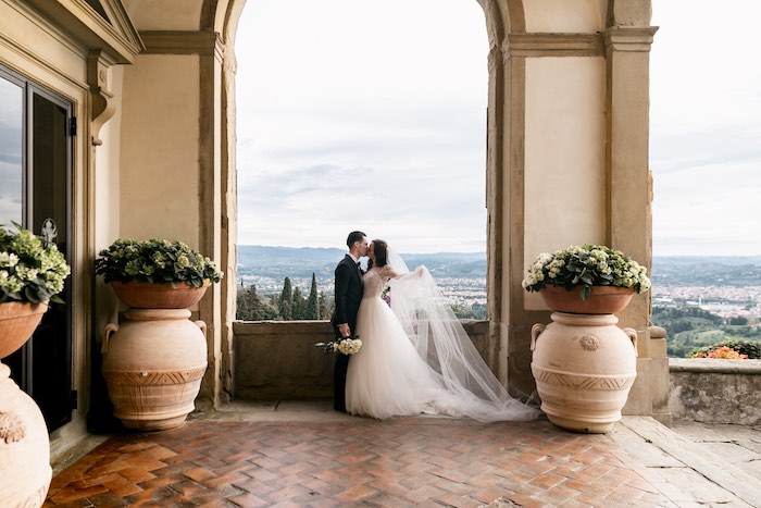 Vogue-Inspired Fairytale Italian Wedding on Kara's Party Ideas | KarasPartyIdeas.com (13)