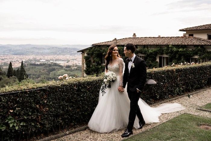 Vogue-Inspired Fairytale Italian Wedding on Kara's Party Ideas | KarasPartyIdeas.com (12)