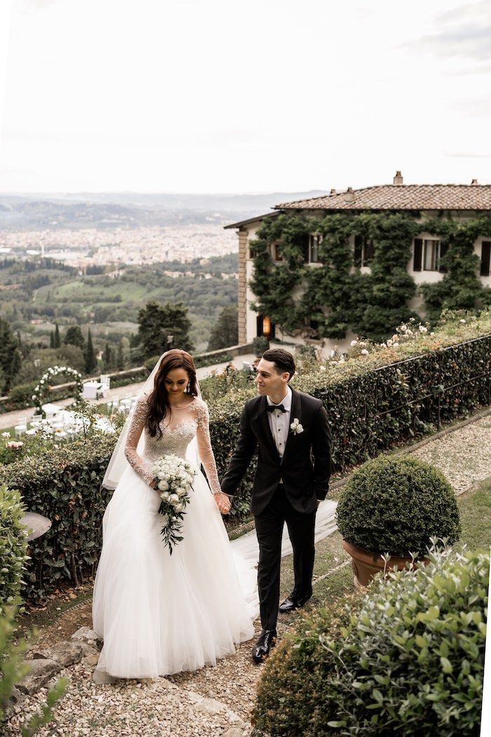 Vogue-Inspired Fairytale Italian Wedding on Kara's Party Ideas | KarasPartyIdeas.com (11)